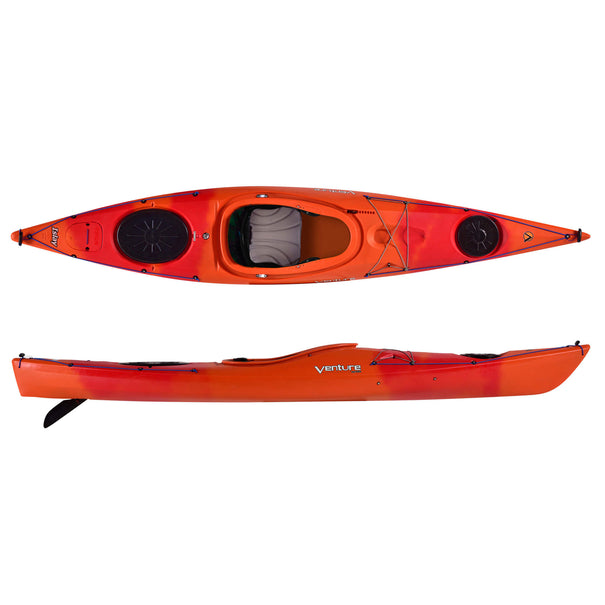 Venture Islay 12 Touring Kayak (Fit4 Sport  Outfitting)
