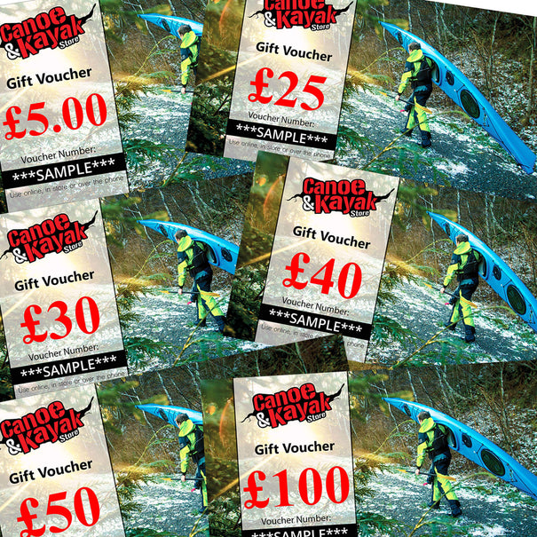 Gift Voucher for Touring Paddlers and Sea Kayakers