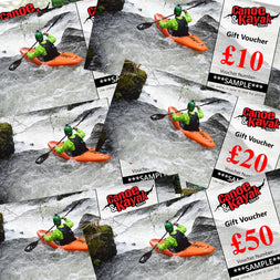 Gift Voucher for Whitewater Paddlers