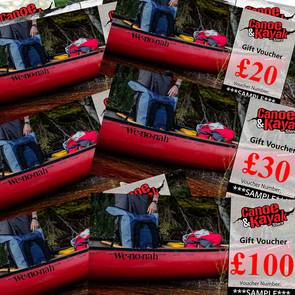 Gift Voucher for Canoeists