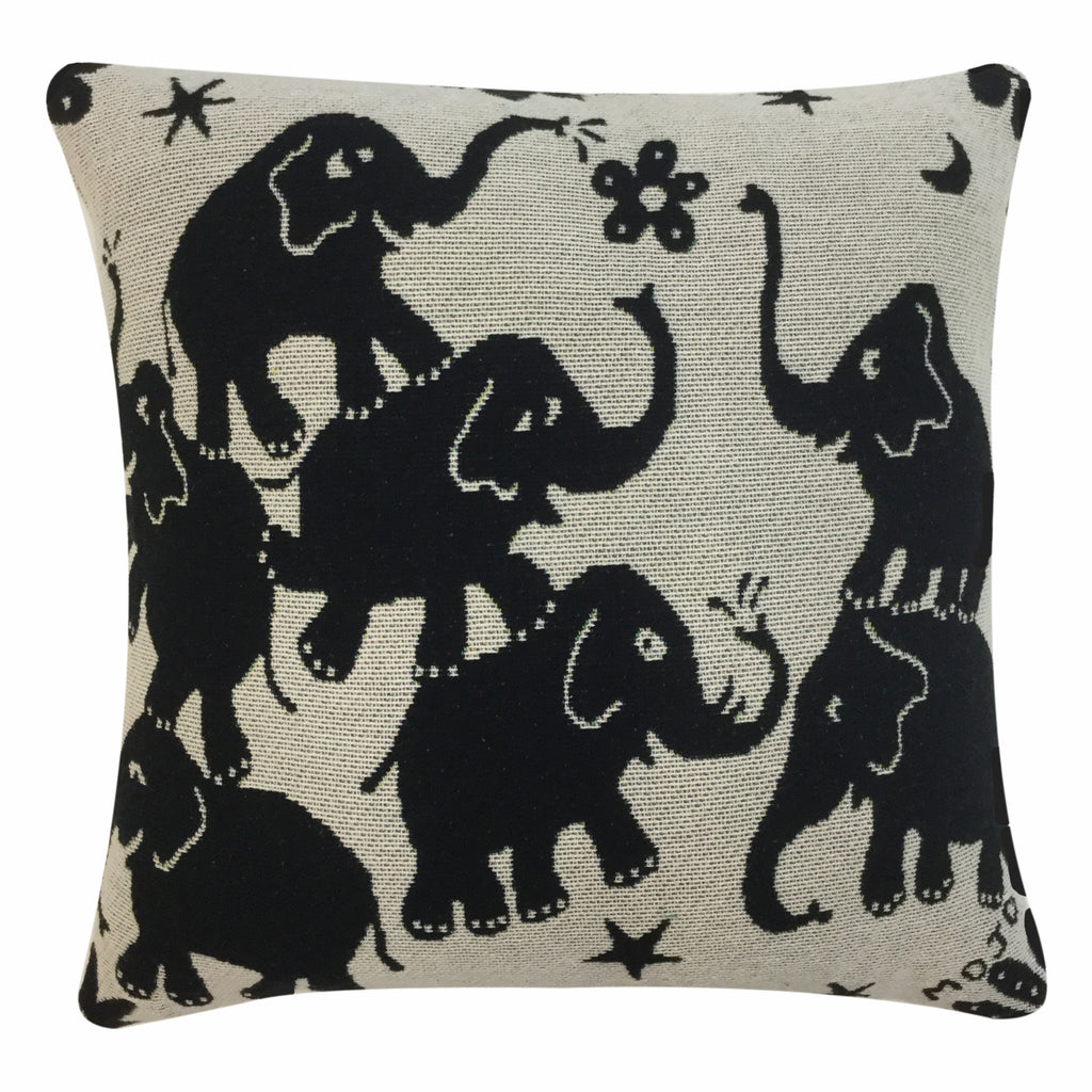 Elephants Pillow