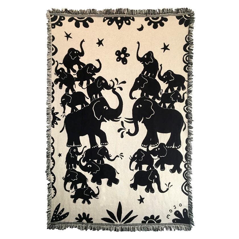 Elephants Throw