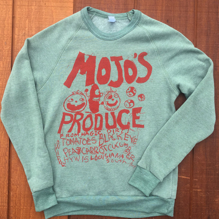 Mojo's Produce Sweat