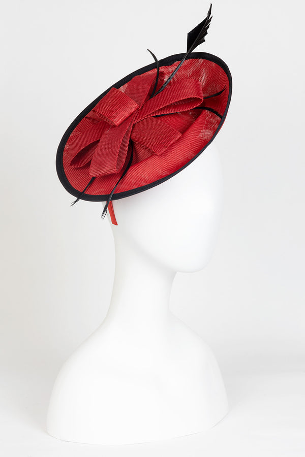 Large Bow Fascinator Hat