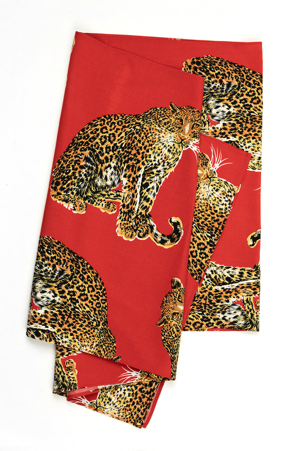 Wrap Scarf - My Pet Leopard