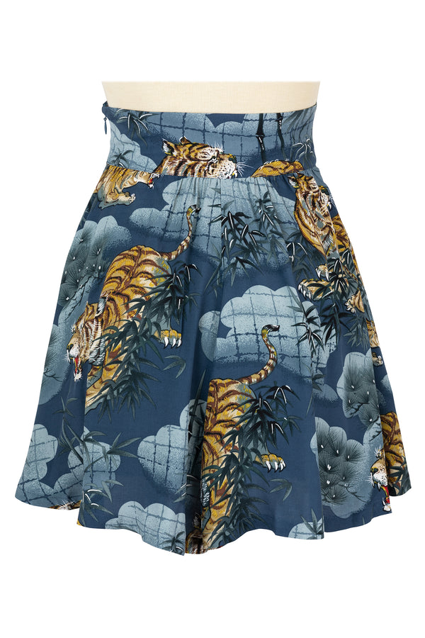 High Waist Shorts - Traditional Tigers