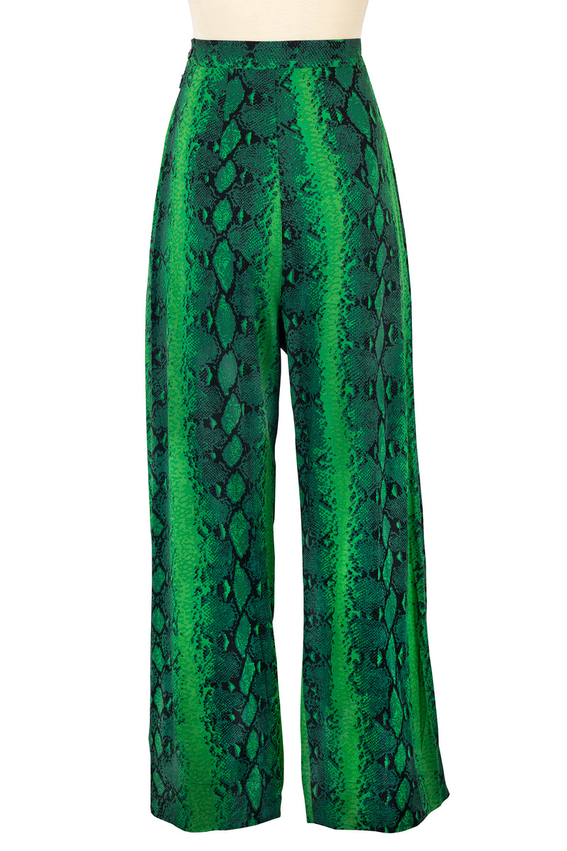 Lounge Pants - Green Snake