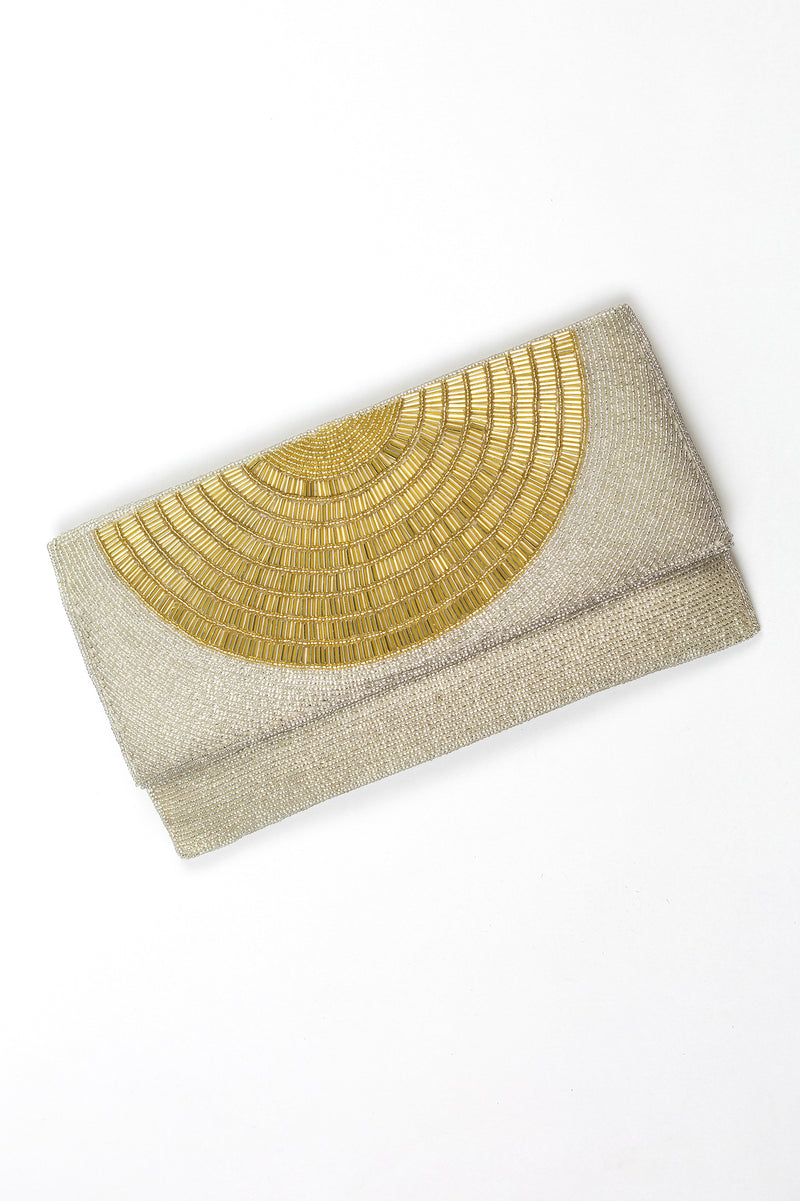 RD Half Circle Beaded Clutch