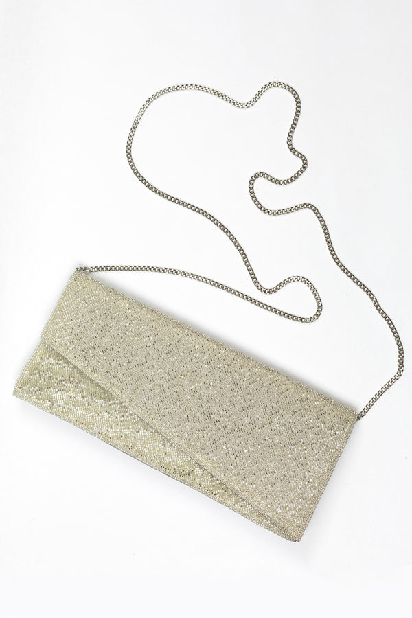 RD Beaded Asymmetrical Clutch