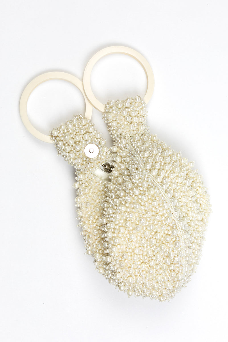 RD Ring Pouch Pearl Wristlet