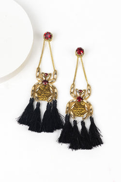 Spider Tassels Earrings