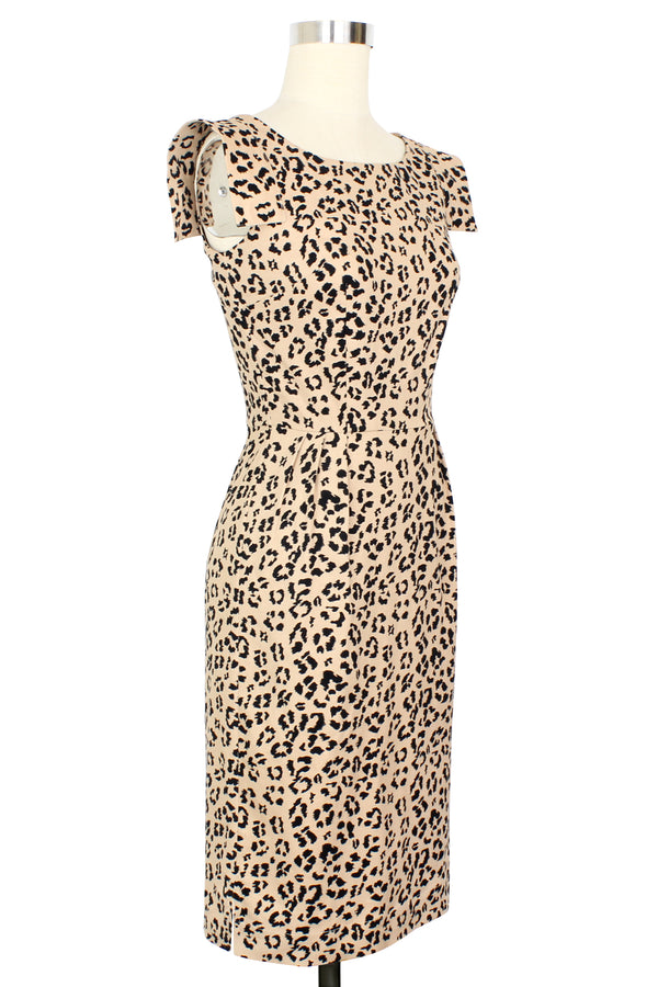 Doren Pencil Dress - Caramel Cat - Pre Order