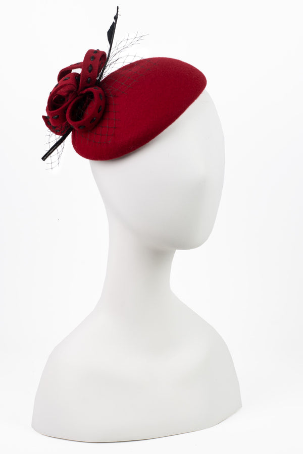 Arrow Feather & Bow Cocktail Hat