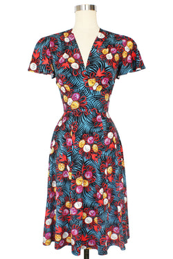 Ashley Flutter Sleeve Dress - Curious Corsage