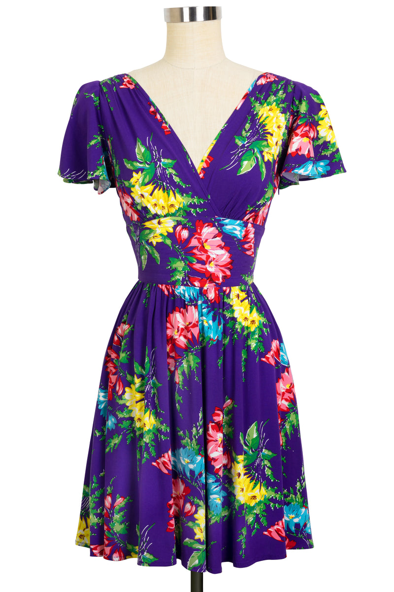 Camilla Dress - Bold Bouquet