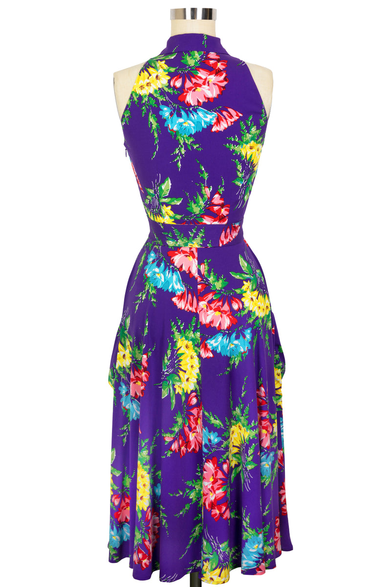 Moto Dress - Bold Bouquet