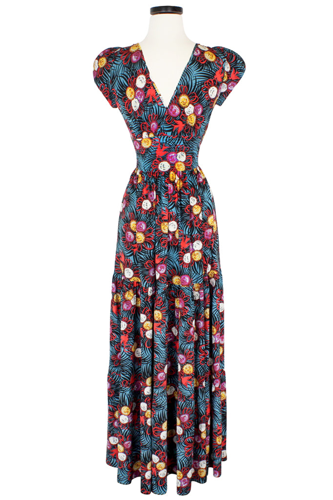 Bianca Petal Long Dress - Curious Corsage
