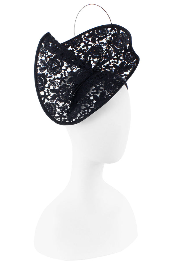 F&M Lace Fascinator