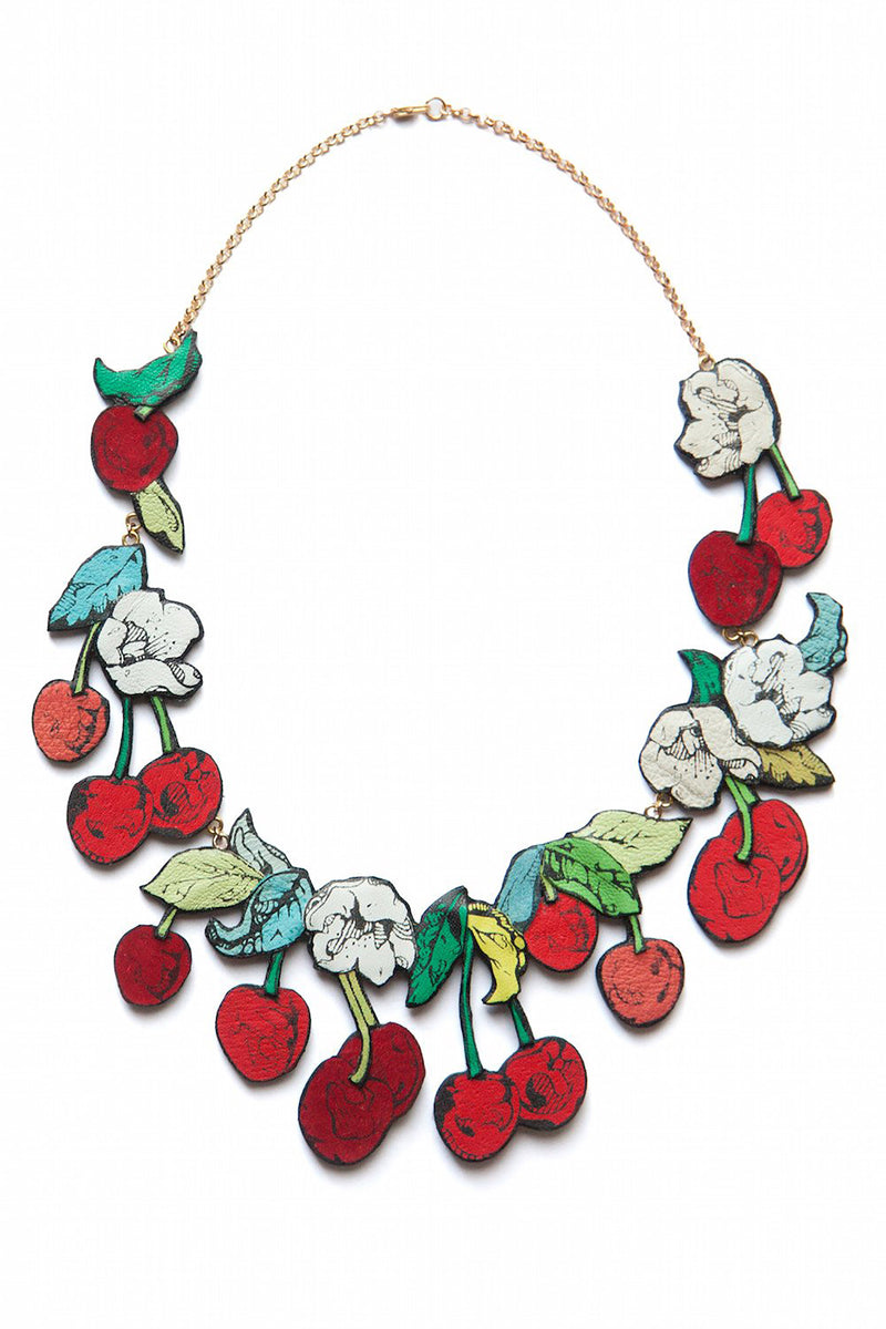 Rosita Bonita Cherry Blossom Necklace
