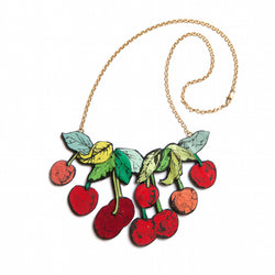 Rosita Bonita Cherry Branch Necklace