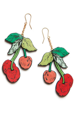 Rosita Bonita Cherry Earrings