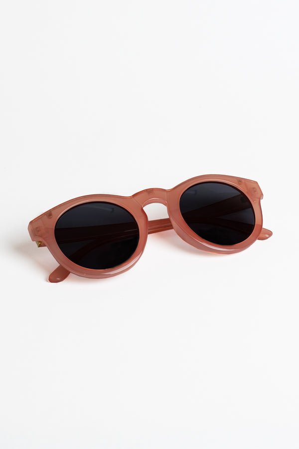 Translucent Coral Sunglasses