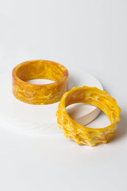 Marbled Bangle Stack