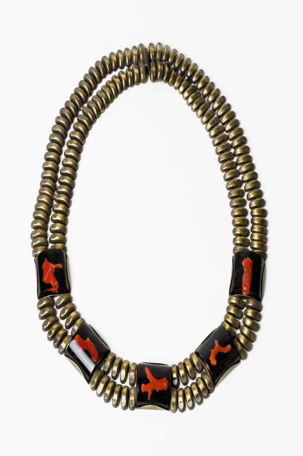 De Luxe Coral Specimen Necklace