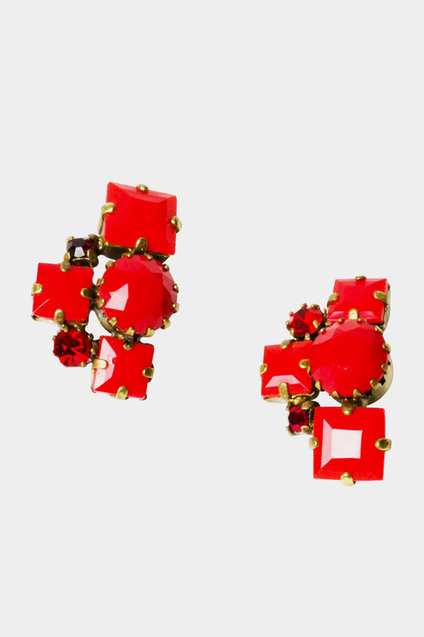De Luxe Hot Rocks Earrings