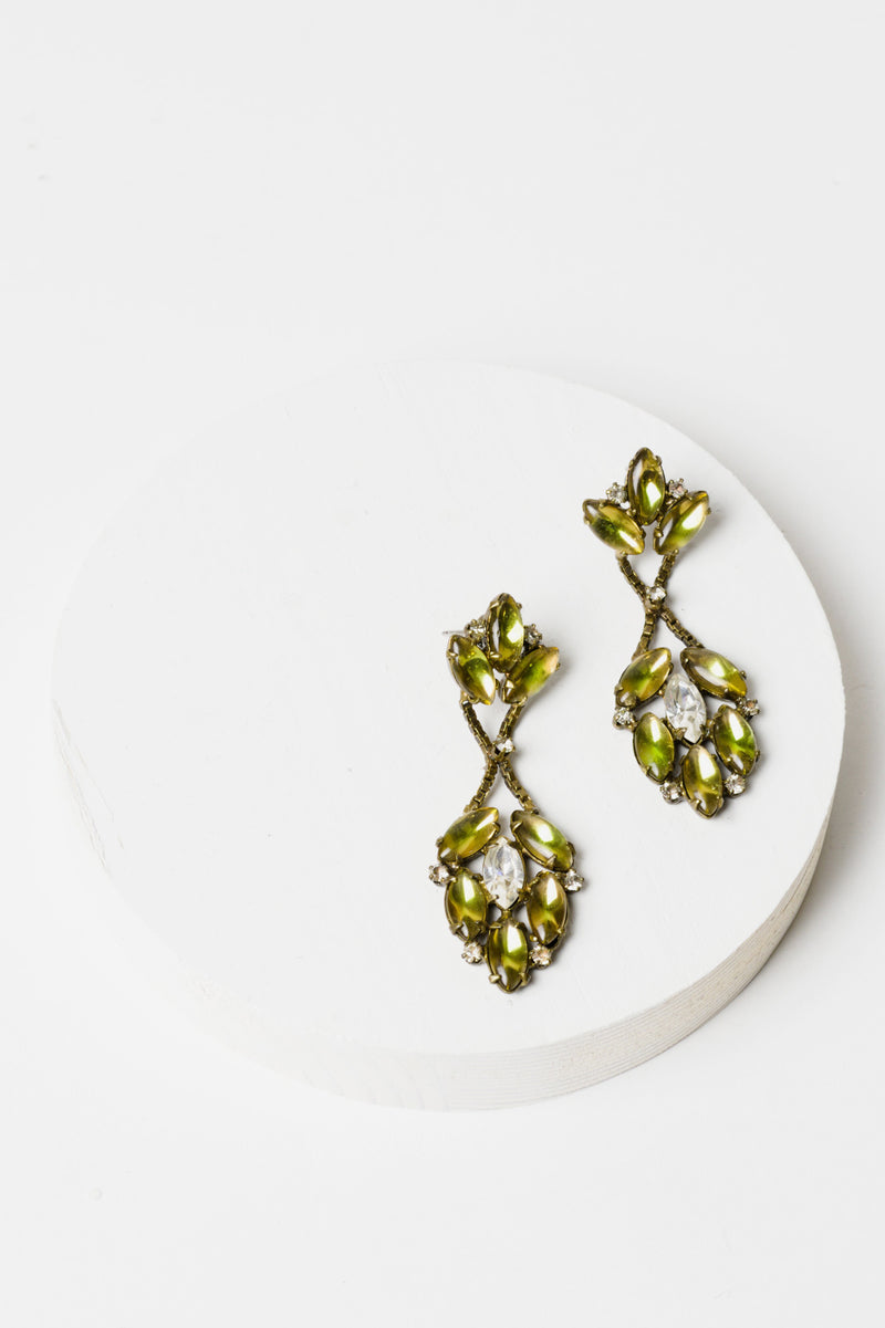 De Luxe Petite Bardot Earrings - Yellow