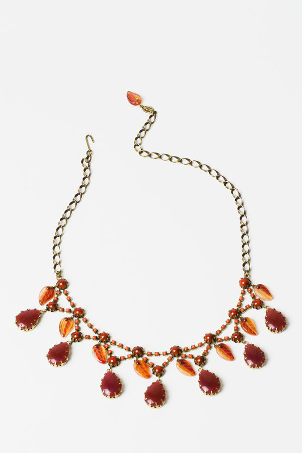 De Luxe Autumn Rain Necklace