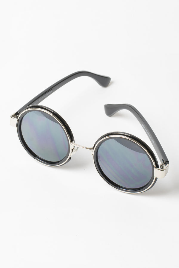 Willa Round Wire Sunglasses