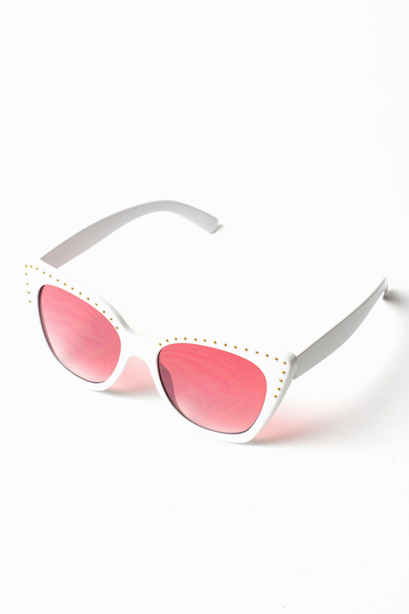 Dottie Studded Sunglasses