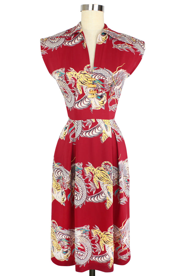 Day Dress - Dragons & Tigers PRE-ORDER