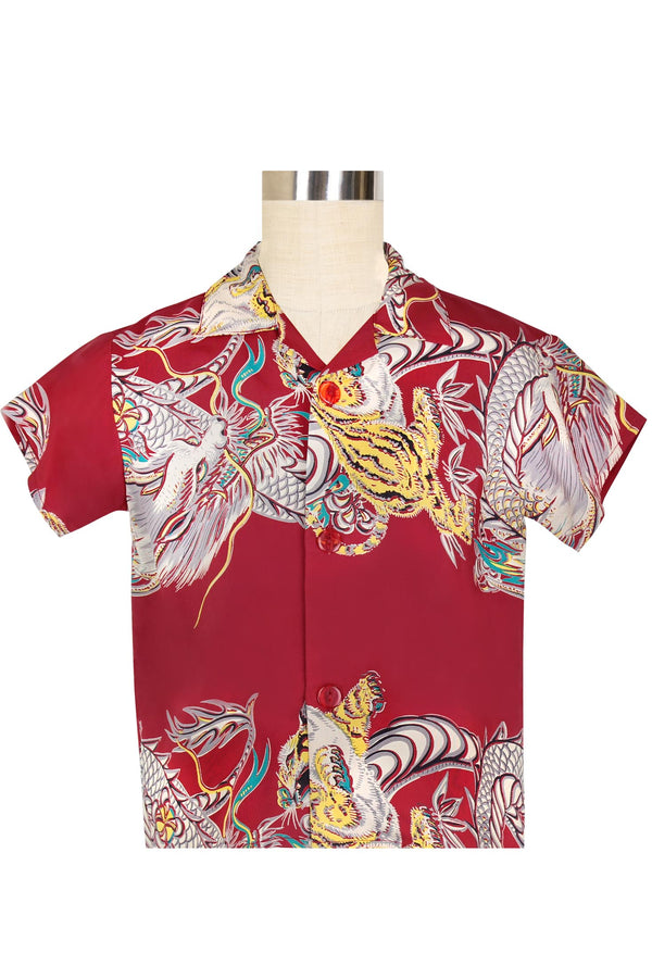 Dixon Shirt - Dragons & Tigers PRE-ORDER