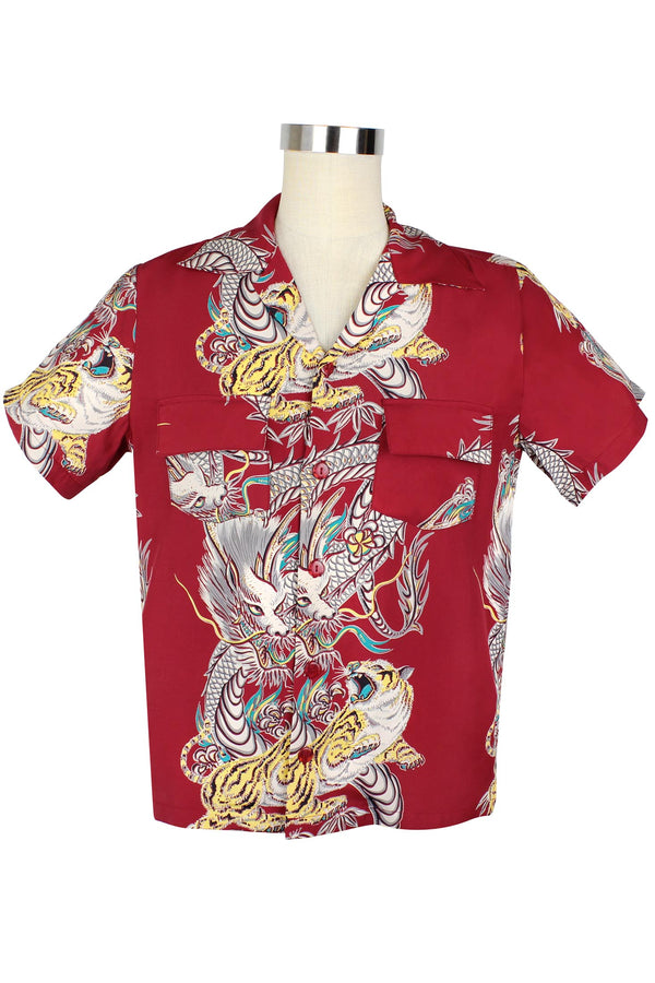 Fred Shirt - Dragons & Tigers