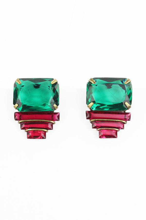 De Luxe Deco Layers Earrings