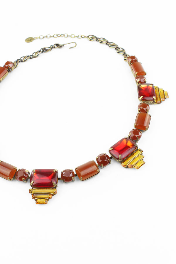 De Luxe Deco Layers Necklace