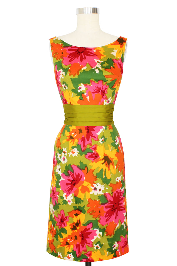 Joan Dress - DayGlow Floral - Pre Order