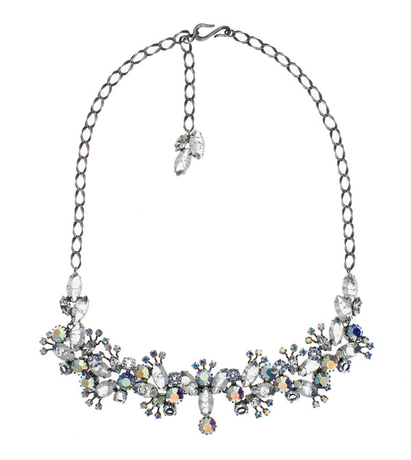 De Luxe Aurora Cluster Necklace