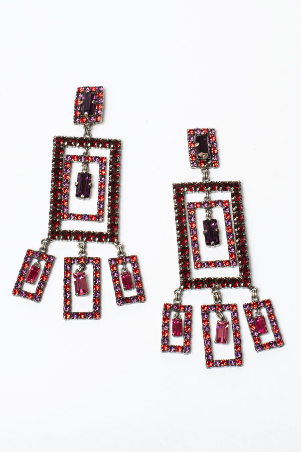 De Luxe Composition Layered Earrings