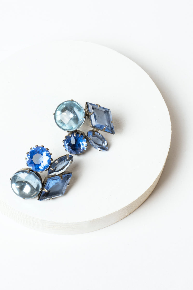 De Luxe Mixed Shape Earrings