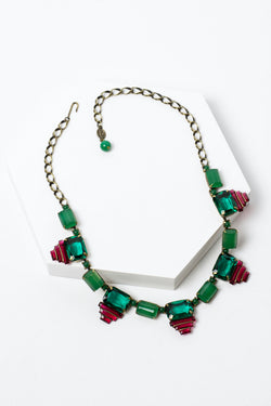 De Luxe Deco Crystal Necklace