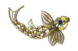 De Luxe Fish Brooch