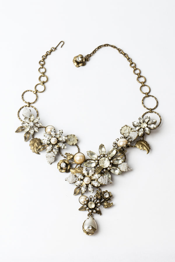 De Luxe Floral Bouquet Necklace