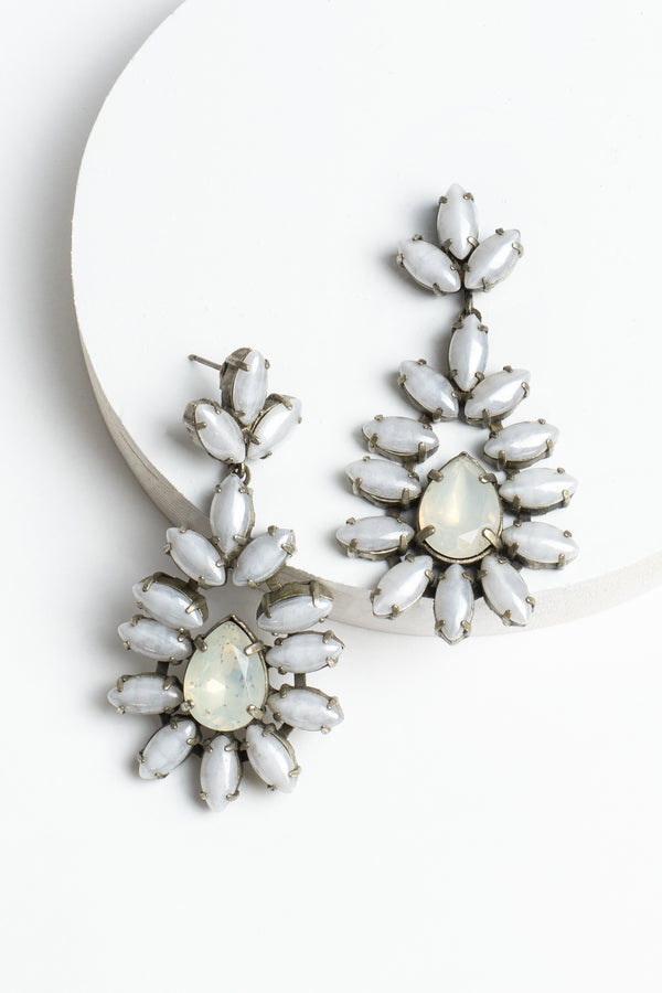 De Luxe Navette Earrings