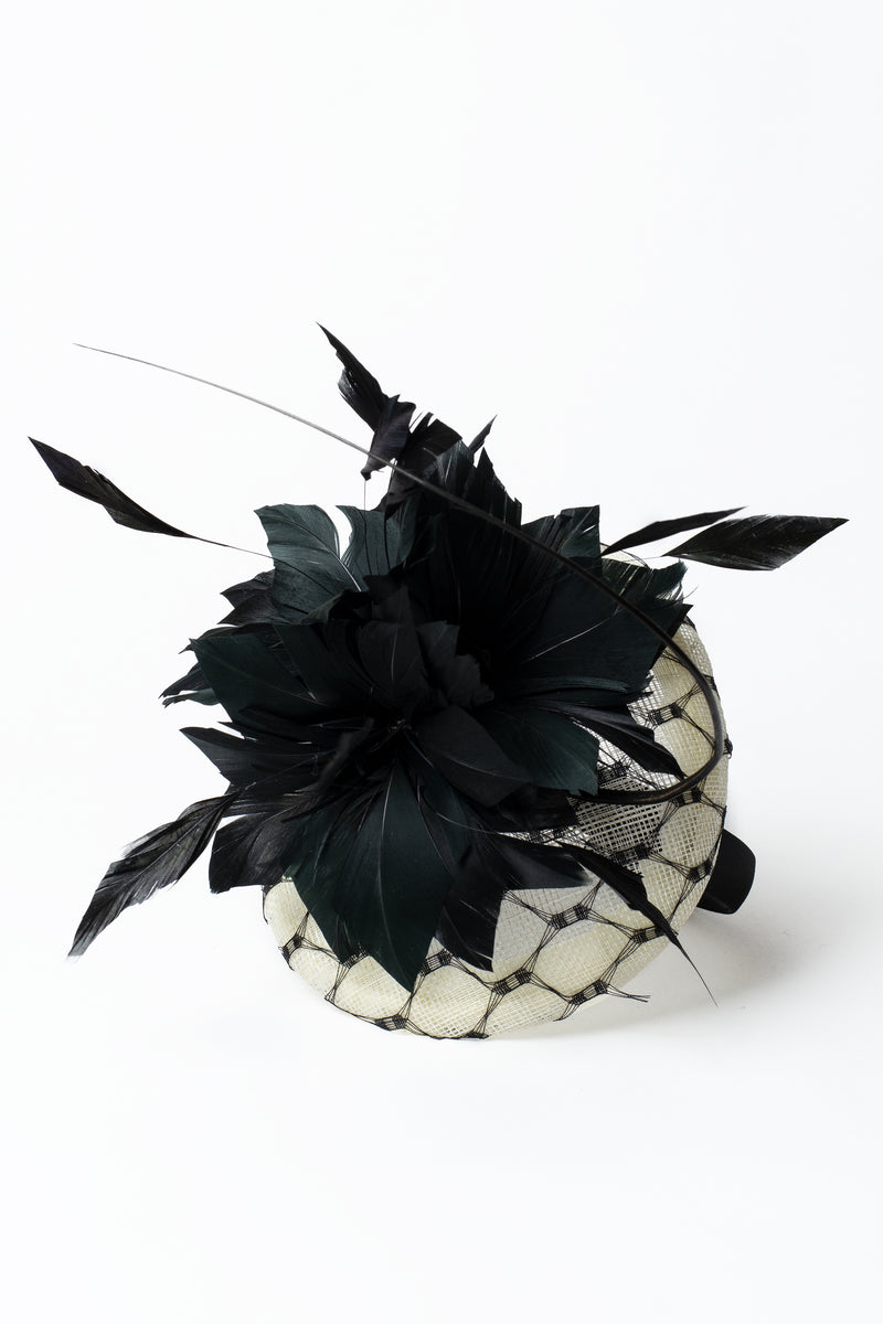 Feather & Quill Fascinator