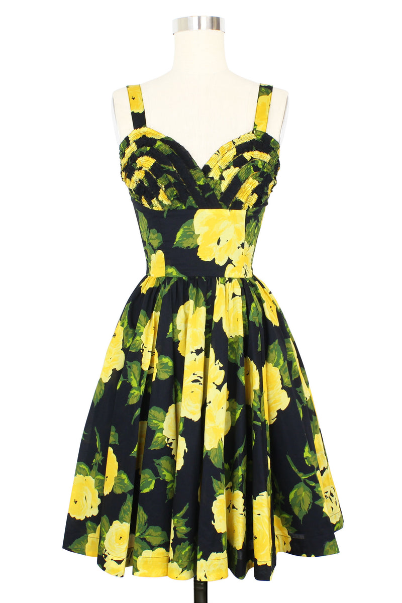Apple Tartlet Dress - 1959 Floral