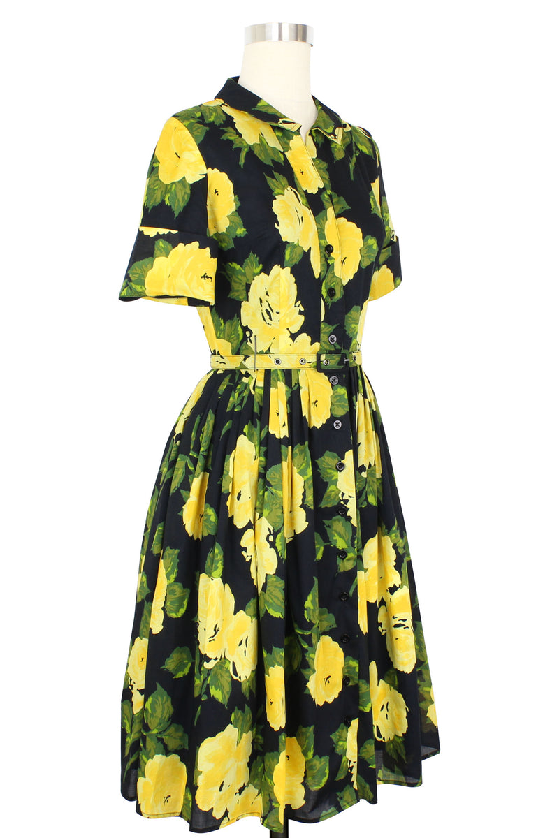 Virginia Shirtwaist Dress - 1959 Floral