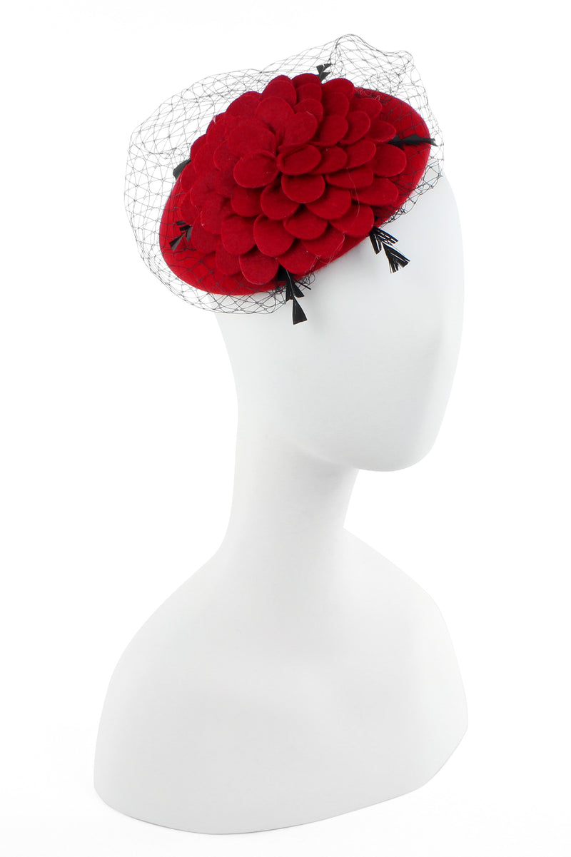 Wool Chrysanthemum Hat
